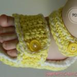Sporty Baby Sandal Crochet Pattern