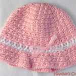 Pink Sunhat with Ribbon Pattern_Small