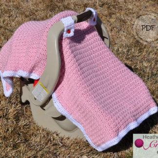 Baby Licious Car Seat Canopy Crochet Pattern Heathers Craft Corner